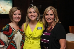 Board Member, Wendy Williamson, along with guests Michelle Fittro from Arvest Bank and Teresa Hudson with Ignite.
