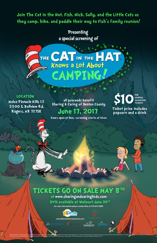 Official Cat in the Hat poster